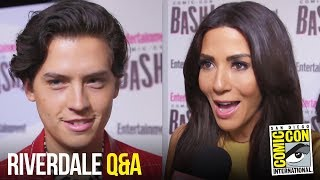 RIVERDALE Cast Play International Slang & Answer Fan Questions at Comic Con 2018