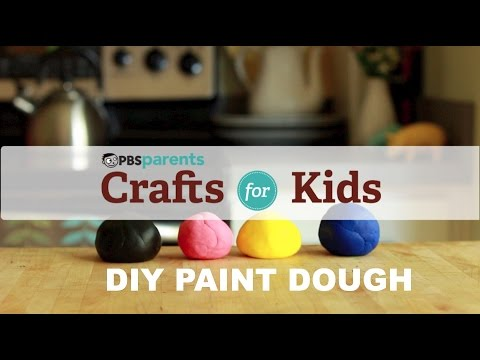 Two-Ingredient Play Dough | Crafts for Kids | PBS Parents