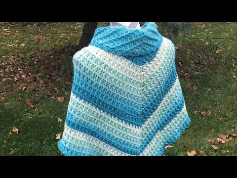 How To Crochet A Shawl: 🍰  Caron Cake Shawl