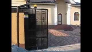 Откатные кованые ворота автоматические в Днепропетровске(, 2012-08-22T14:39:40.000Z)