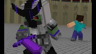 Стів Історія Життя 6: Бій На Мечах - Minecraft Анімація
