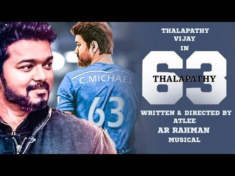 CLARIFICATION : Thalapathy Vijay's Name in Thalapathy 63