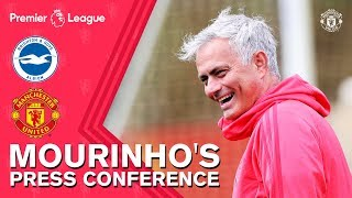 Jose Mourinho Delighted with Pogba Contribution | Press Conference | Brighton v Manchester United