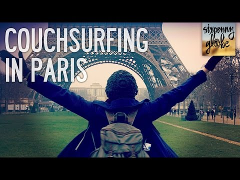 Couchsurfing And Hiking The Eiffel Tower | Paris Part 1