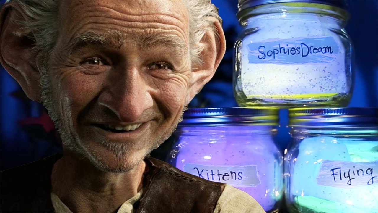 How To Make Bfg Dream Jar Disney Diy Youtube
