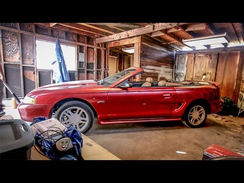 I Just Bought The Cheapest Mustang GT Convertible In America - Budget Build Challenge Pt 1