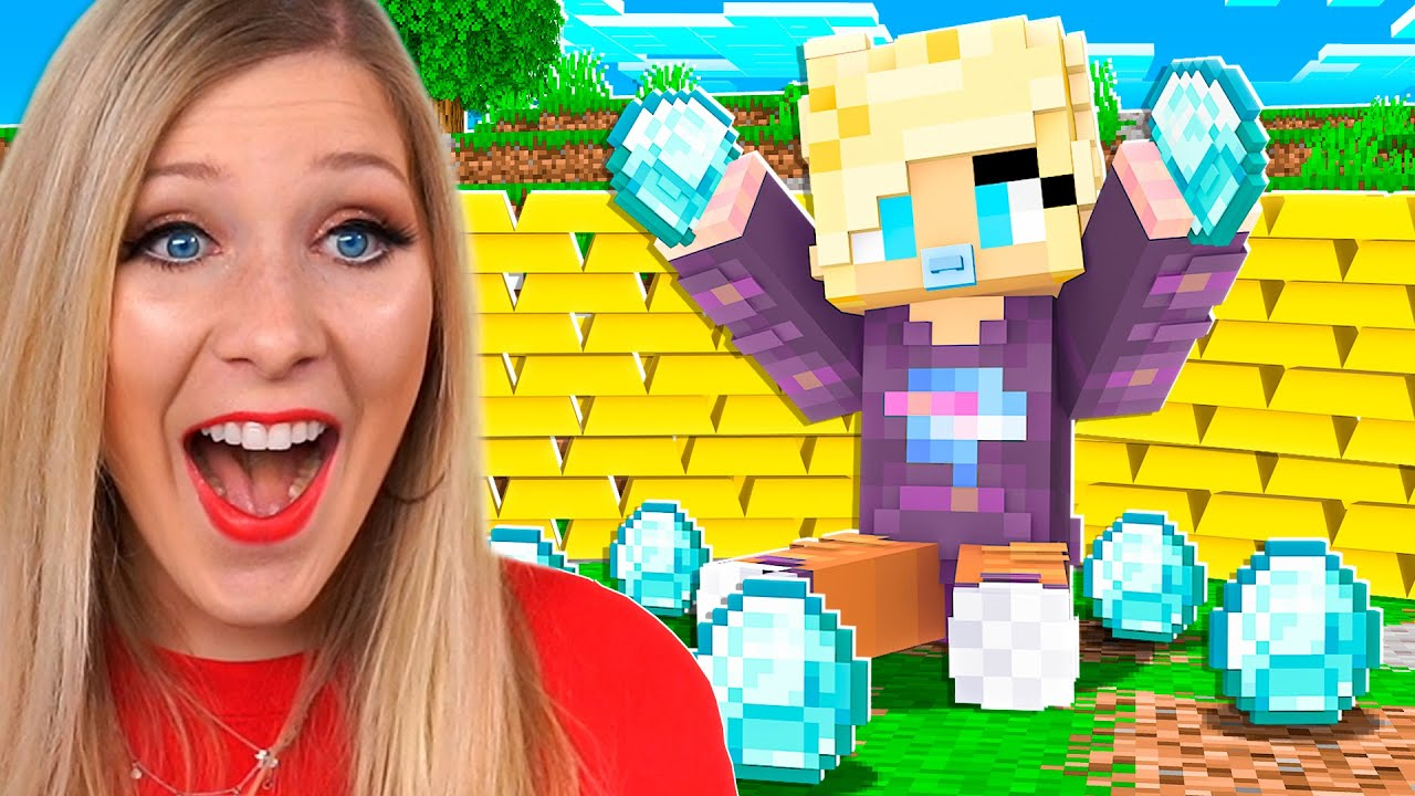Download Playing as BABY YOUTUBERS in Minecraft!