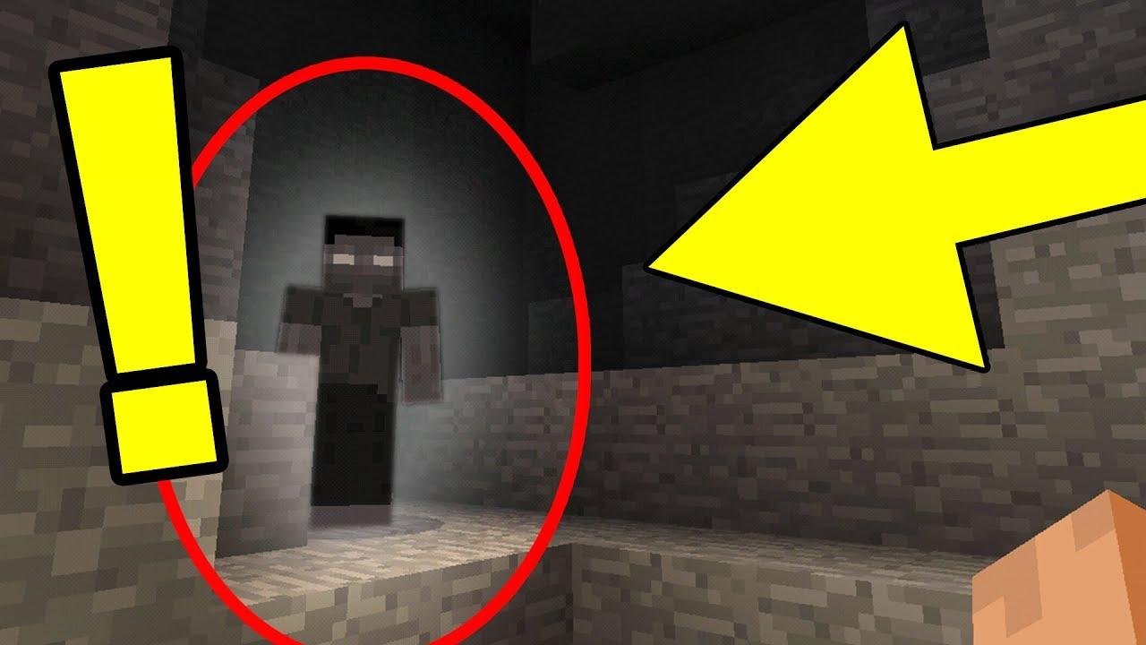 Minecraft Ghost Steve Sightings Scary Minecraft Sightings