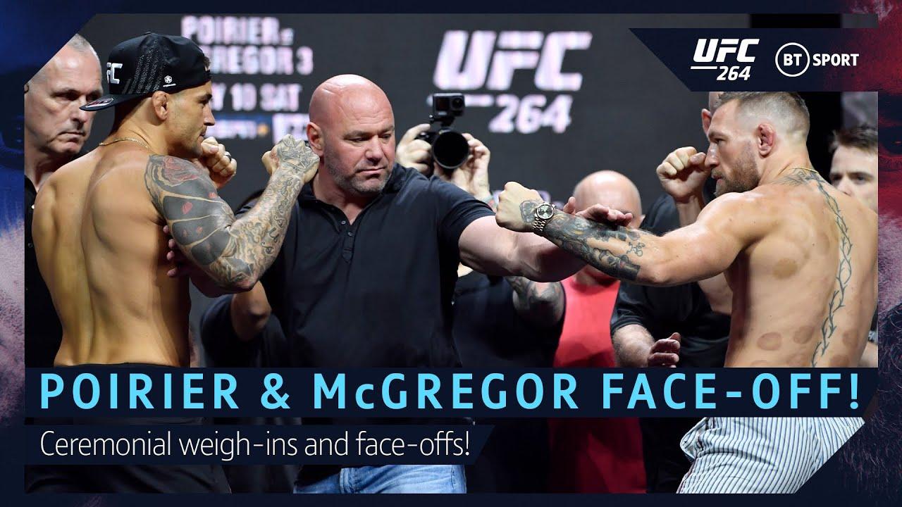 Download Conor McGregor and Dustin Poirier UFC 264 Ceremonial Face-off!