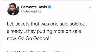 Wow Gervonta Davis Sold Out Fight