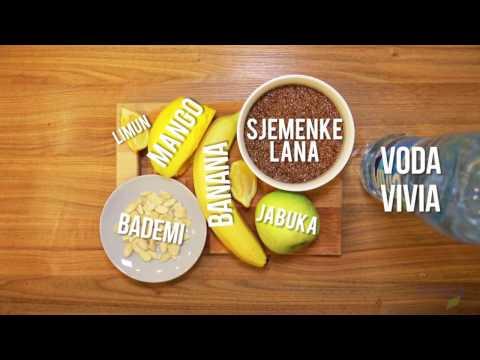 Žuti smoothie za snagu i izdržljivost: Mondo fitnes (Powered by VIVIA)