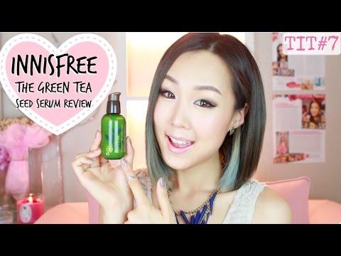 INNISFREE Green Tea Seed Serum Review! ♥ 이니스프리 더 그린티 씨드 세럼 리뷰 | #TryItTuesday