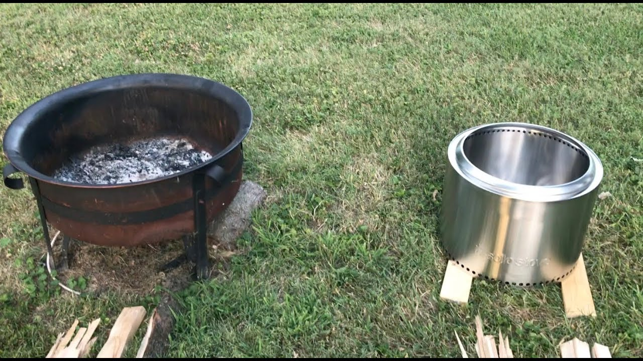 solo stove bonfire cooking