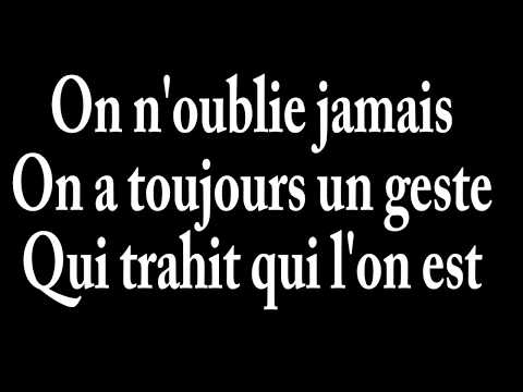 Céline Dion - On ne change pas (lyrics-paroles)