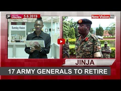 Around Uganda: 17 army generals to retire