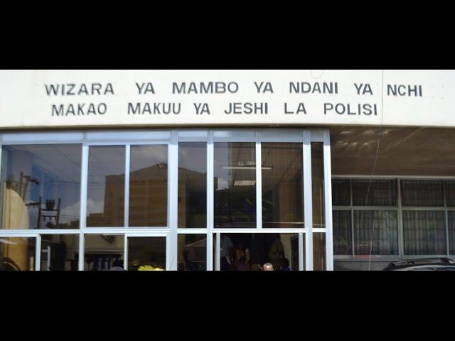 Wizara ya Mambo ya Ndani imeliomba Bunge kupitisha bajeti yake ya Bilioni 864