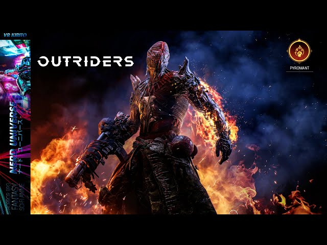 Outriders | Die Pyromanten Klasse & Mehr Gameplay und Action ☬ Deutsch [PC] 1440p Ultra