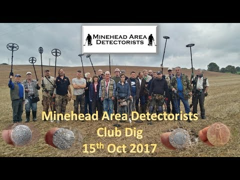 Metal Detecting MAD Club Dig 15th October 2017