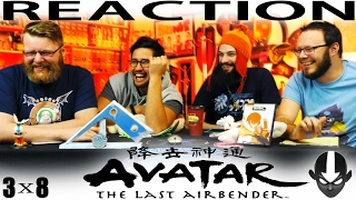 """Avatar: The Last Airbender 3x8 REACTION!! """"The Puppetmaster"""""""