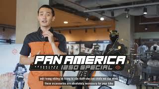 Chinh phục mọi địa hình với bộ phụ kiện bảo vệ Pan America 1250 Special