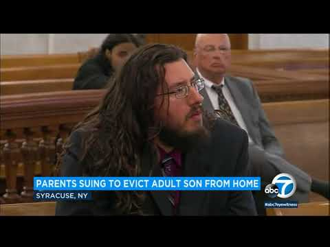 Judge orders 30-year-old son to leave parents' home after they sued him