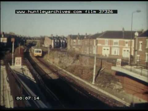 Newcastle Metro, 1980s - Film 37326