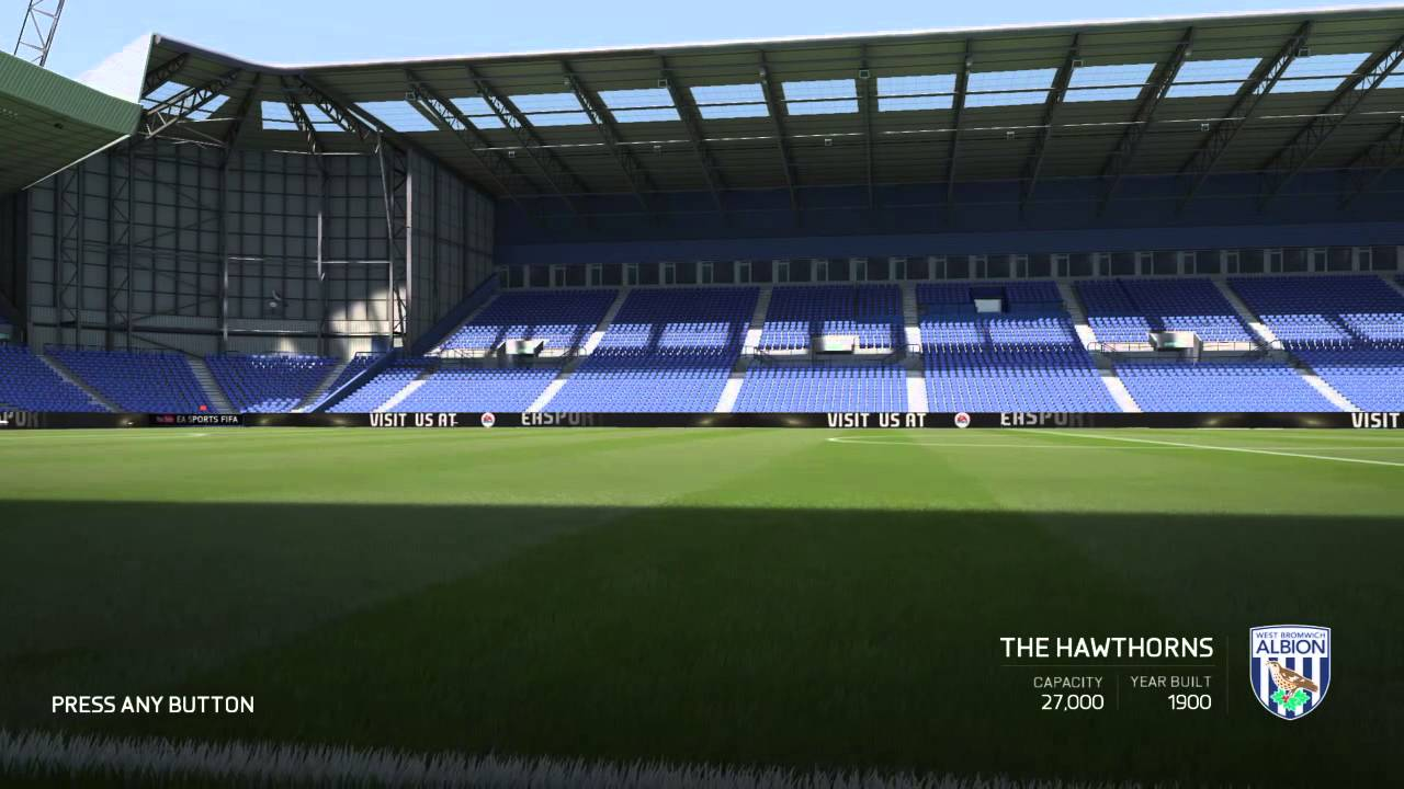 FIFA 16 - The Hawthorns - YouTube