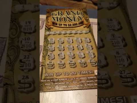 BIG WIN on the New Grand Money from the Georgia lottery!! (EXPLICIT)