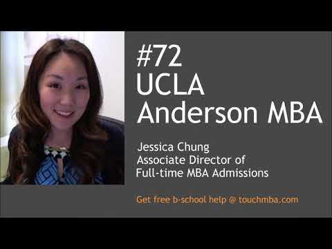 UCLA Anderson MBA Admissions Interview with Jessica Chung - Touch MBA Podcast