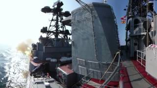 Russia, China navy drills in 360: Spectacular panorama video of massive military exercises