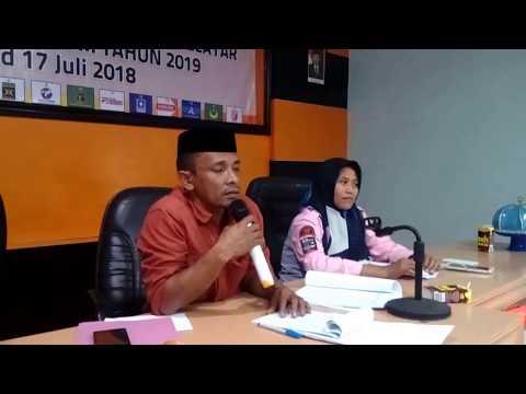 Baru 5 Parpol Di Selayar Daftar Bacaleg Ke KPU, Gerindra Tertinggi Keterwakilan Perempuan