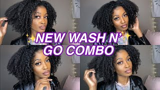 NEW WASH N' GO COMBO ON TYPE 4 HAIR! THIS ONE REALLY SURPRISED ME 🤭| Bri Bbyy
