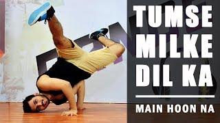 Tumse Milke Dil Ka Dance Choreography | Main Hoon Na | Imon Kalyan | HipHop