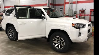 Customizing a 4Runner TRD Off-Road. Wow! And congratulating people for their purchases