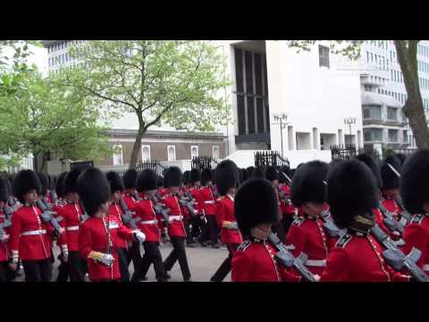 BRITISH SOLDIERS IN LONDON