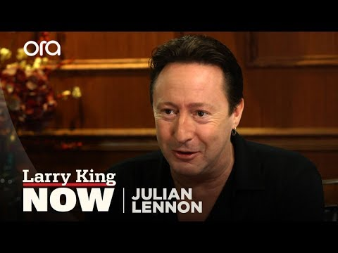 Julian Lennon Gets Candid About His Late Father, The Beatles' John Lennon
