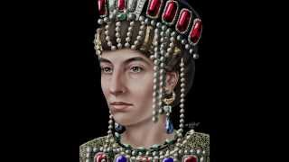The Face of Empress Theodora (Artistic Reconstruction)