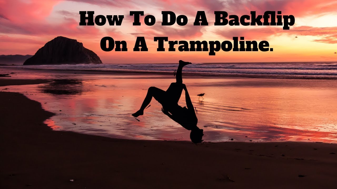 Learn how to backflip on a trampoline in 5 minutes | asap youtube.