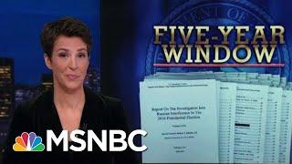 Robert Mueller Report: Outline For Prosecution   Rachel Maddow   MSNBC