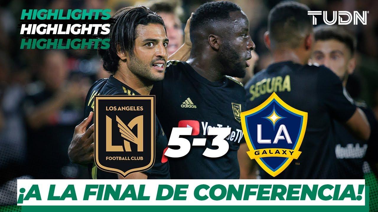 Resumen y Goles   LAFC  5 - 3 LA Galaxy   MLS Cup - Western Conf. Semifinal