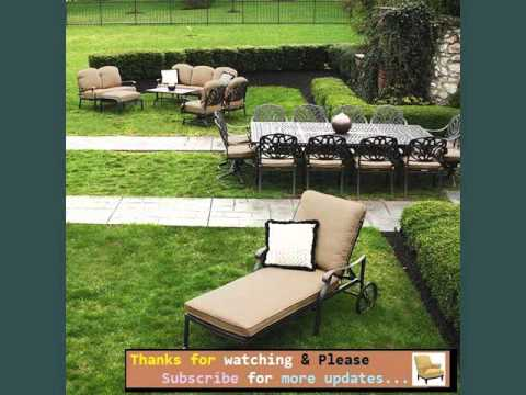 Garden Furniture Ideas | Outdoor Furniture On Grass Romance