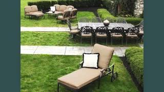 Garden Furniture Ideas Outdoor Furniture On Grass Romance