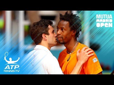 Kyrgios, Dimitrov, Simon reach second round | Mutua Madrid Open 2017 Highlights Day 2
