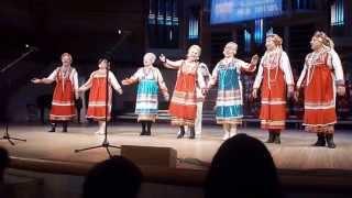 мордовская песня  на фестивале--Москва город мира