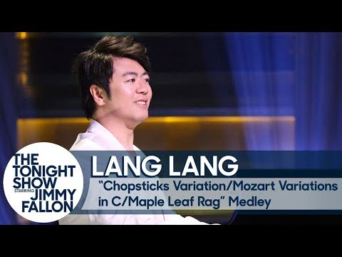 Lang Lang: Chopsticks Variation/Mozart Variations in C/Maple Leaf Rag Medley