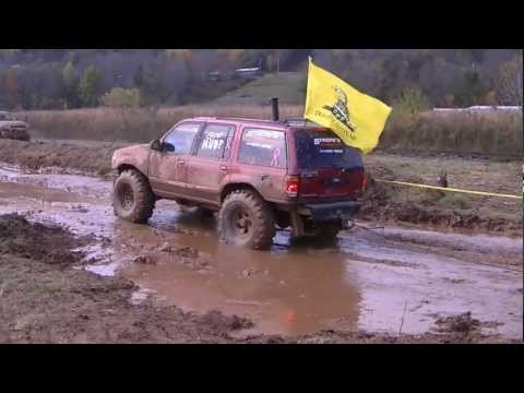 4X4ing with Metallica in Bradford county PA Ford & Dodge Toys 2012 Part two