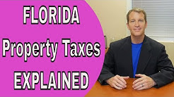 "Florida Property Taxes - Top ""3 Benefits"" of Florida Homestead"