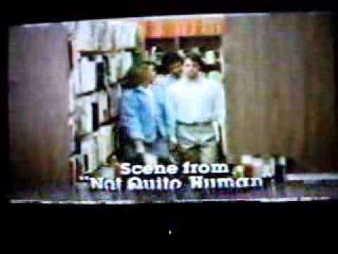 Not Quite Human 1987 TV Commercial  Accepting Diplomas  Sneak Peek P