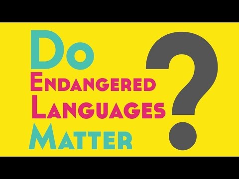 an analysis of the endangered status of the english language What is language documentation, how is it done, and why is it important one of the important needs of humans is the desire to preserve the memory of the most meaningful achievements of their lives and to pass on the knowledge about their times, cultures and civilizations to the next generations.