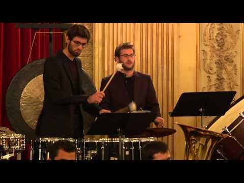 Climb (2013) by Jon Hansen for large brass ensemble & percussion (World Premiere)